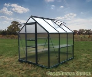 GrowMaster6x6Greenhousein Green